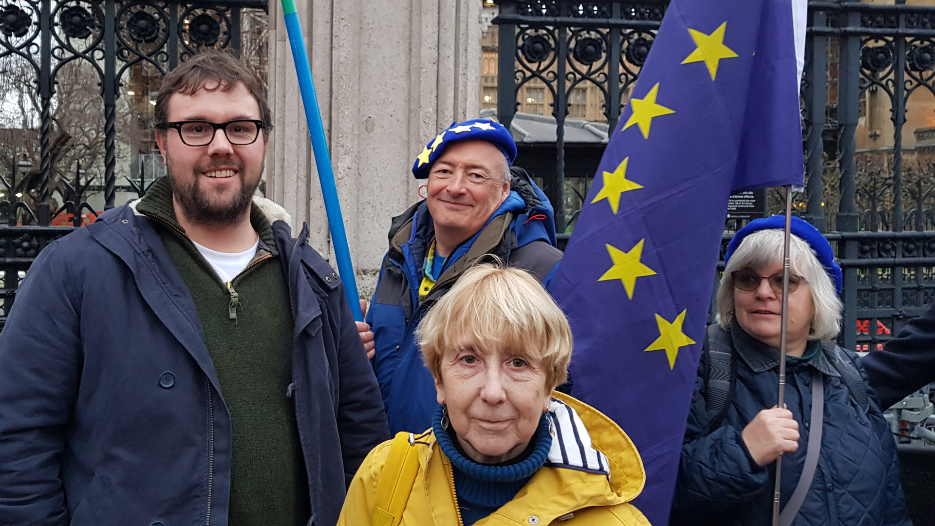 Lib Dem / Norfolk for Europe people at Westminster