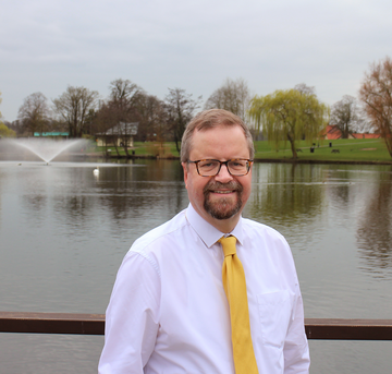 Photo of Trevor Wenman, Liberal Democrat Candidate, Diss and Roydon May 2019 (Photo by Photo Elite, Diss)